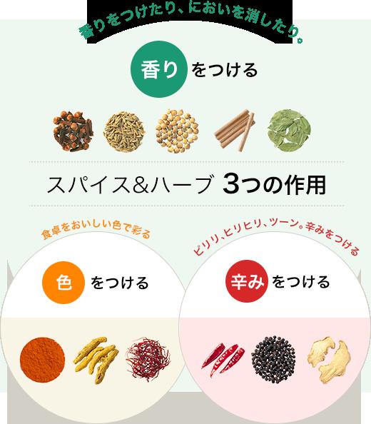 Специи и травы 3 действия Добавьте очки / вкусы, чтобы приправить и использовать травы и тушить запахи.  Применить «запах»  Наибольшая особенность, характерная для большинства специй и трав.  Он имеет такой эффект, как добавление аппетитного аромата и подавление запахов рыбы и мяса и т. Д. Вкус блюда улучшается благодаря хорошему его использованию.  / Раскрась обеденный стол вкусными цветами.  Примените «цвет».  Специя, которая придает ей цвет, похожий на запах пищи.  Цвет является важным элементом приготовления пищи, так как говорят, что есть с глазами.  Куркума, шафран, паприка, ягода без хурмы и др.  Примените «Spotness».  Есть множество горячих точек, таких как горящий горячий язык с жгучим языком, острый острый пик и холодный удар носом.  Перец, имбирь, ямс, горчица и т. Д.